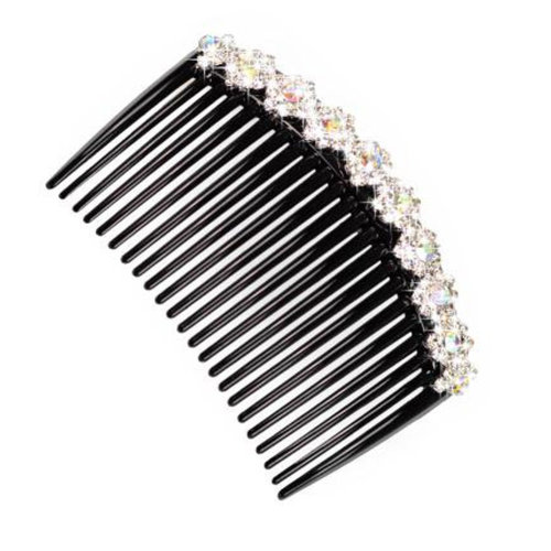 Elegant Women Hair Clip Comb Hair Fork Beautiful Crystal Hair Accessories B