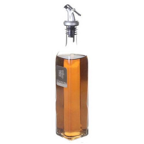 Practical Glass Oil Container Oil & Vinegar Bottle Oil Jar, H