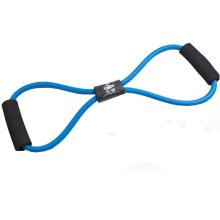 Fitness&Exercise Band Chest Expander Tension Device/Yoga Tube Body Band Blue