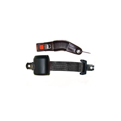 Seat Belt - Retracting Lap - Black
