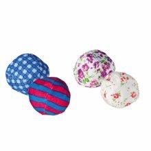 Rustling Balls, Ø 5 Cm, 2 Pcs. - Cat Kitten Catnip Play Balls Trixie Toy 4 Poly -  cat kitten catnip play balls rustling trixie toy 4 poly cotton
