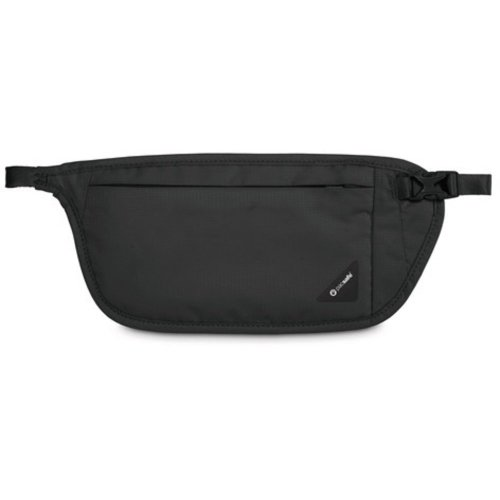 Pacsafe Coversafe V100 RFID Blocking Waist Wallet (Black)