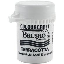 Brusho Crystal Colours 15 Gram Terracotta