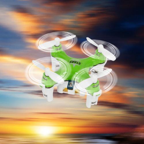 Goplus CX-Stars 6 Axis Gyro Mini 2.4G RC Quadcopter Drone 4CH Headless LED Light