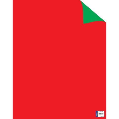 """Primary Color Two Cool Double-Sided Posterboard 22""""X28""""-Red/Green FOB: MI"""