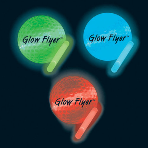 Night Flyer Golf Balls Mixed Colour pack 4