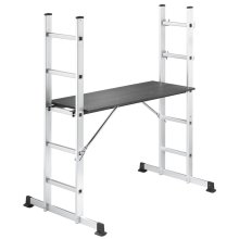 Hailo Ladder/Scaffold Set ProfiStep 86 cm Aluminium 1055-001