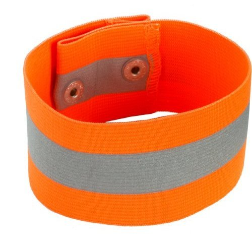 Ergodyne GloWear 8001 High Visibility Arm/Leg Band - Snap Closure, Orange, Large/X-Large