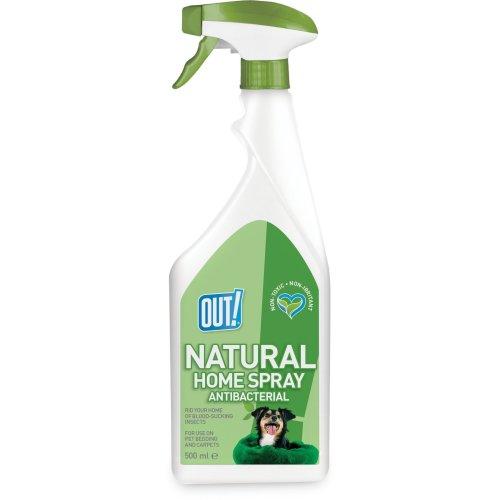 OUT! Natural Home Flea Treatment Spray - 500ml