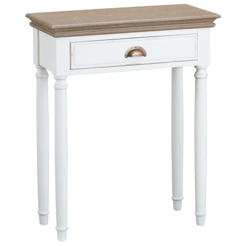 Strasbourg 1 Drawer Console Table | Shabby Chic Hallway Table