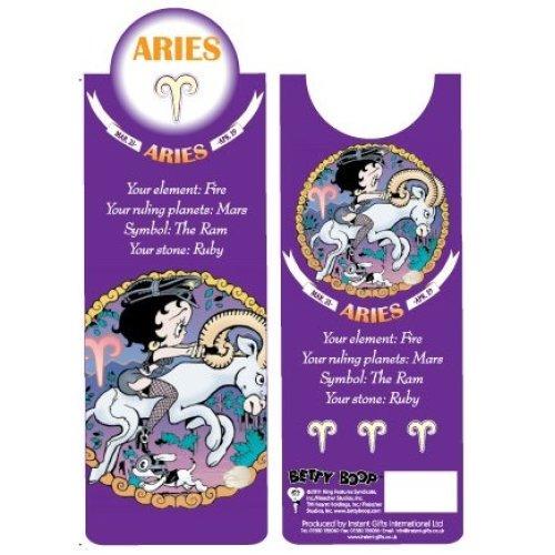 Betty Boop Aries Bookmark