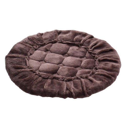 [T] Soft Flannel Round Stool Cover Bar Stool Seat Pad