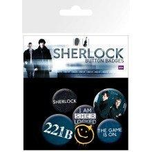 Sherlock Mix Badge Pack