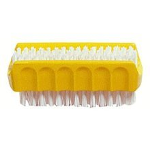 Chef Aid 9cm Plastic Double Sided Nail Brush(assorted Colors) - 9cm Colors -  chef aid 9 cm plastic double sided nail colors brushassorted