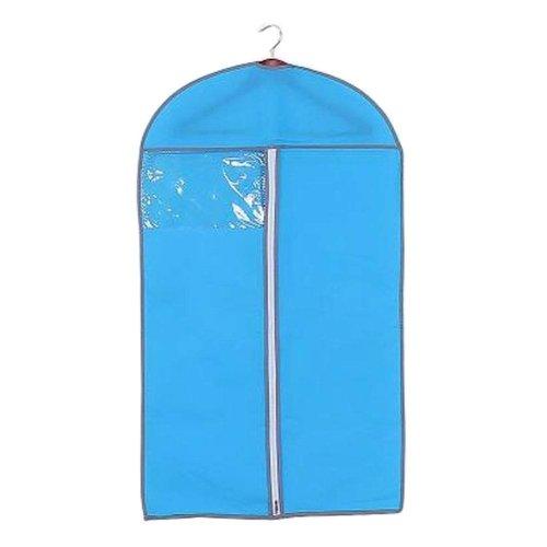 Set of 3 Clothes Storage Dress Cover Garment Suit cover Dustproof Bags Blue
