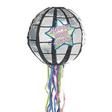 Happy New Year Conventional Pinata 30.4cm x 30.4cm x 30.4cm - Favors P19635