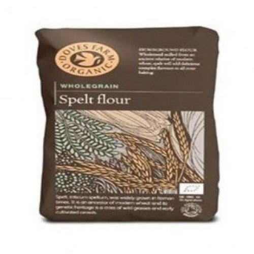 Doves Farm - Org Spelt Wholemeal Flour 1000g (5 pack)