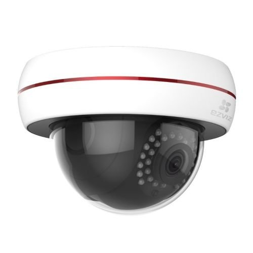 EZVIZ PoE 1080P C4S (POE) Outdoor  Dome Camera, 4mm Lens, 30m Night Vision, Vandal Proof, IP66, Micro SD