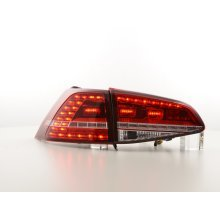 Led Taillights VW Golf 7 from Year 2012 red/clear
