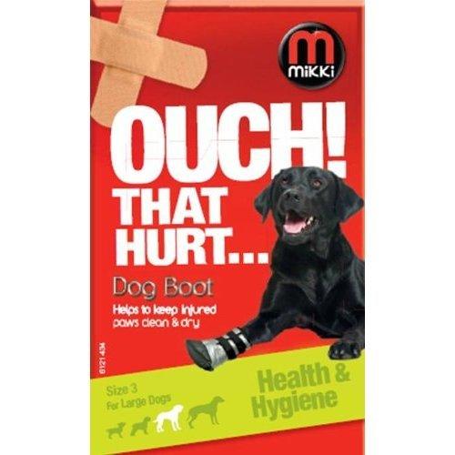 Mikki Hygiene Dog Boot, Size 3