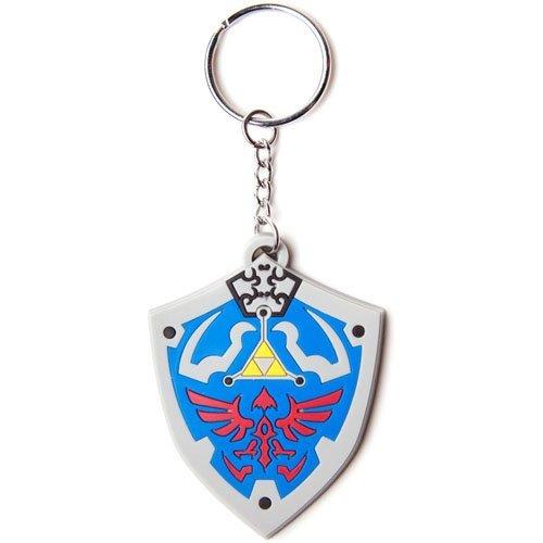 NINTENDO LEGEND OF ZELDA Hyrulian Crest Rubber Keychain (KE141770NTN)