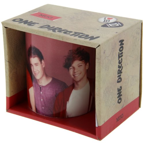 One Direction Gold Designs Ceramic Mug With Gift Box)