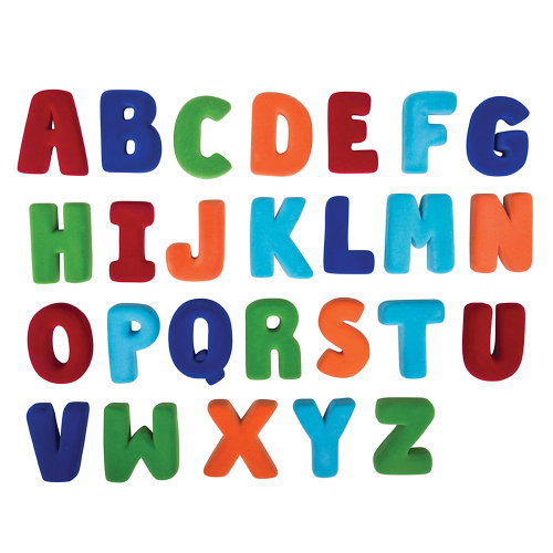 Rubbabu Large Magnetic Alphabet Set Upper Case