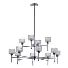 Finsbury 8 + 4 Arm Pendant LED Ceiling Light
