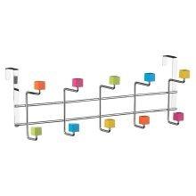 10 Hook Door Hanger - Multi-Colour