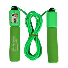 """Counting Skipping Rope Jump Rope For Adult(118.11"""")Sponge Handle"""