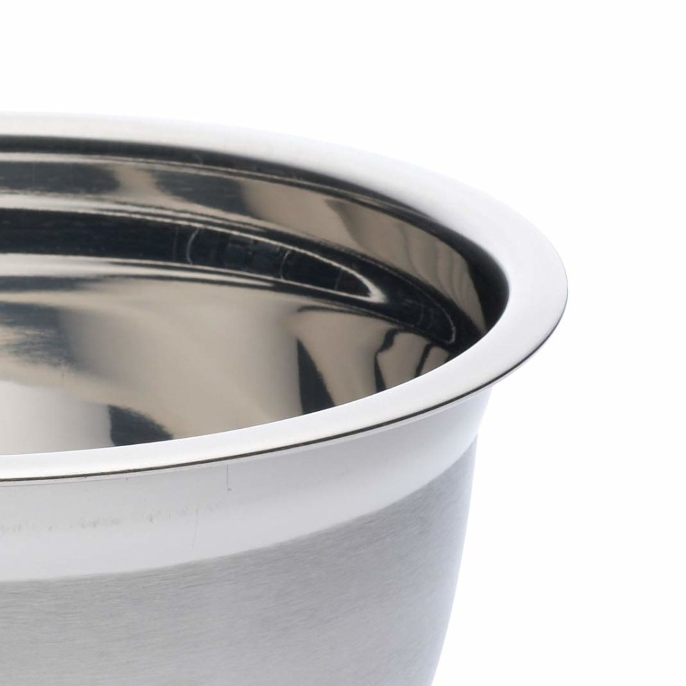 Kitchencraft Large Stainless Steel Mixing Bowl 4 Litres 7 Pints
