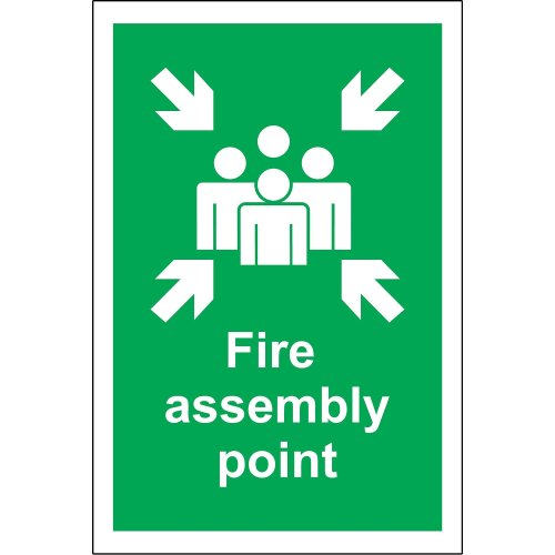 1.2mm Rigid plastic 200mm x 150mm Mixed Paper and card Recycling Sign