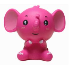 Creative Gifts Piggy Bank Lovely Elephant Money/Coin Box, Red