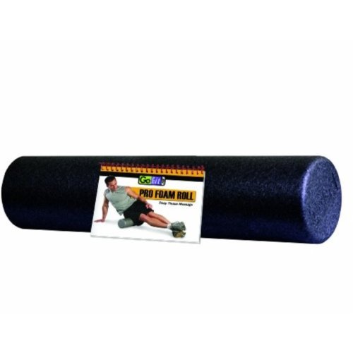 GoFit 24 x 6 Pro Foam Roller with Training Manual