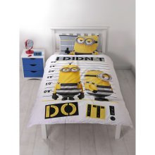 Despicable Me 3 Jailbird Single Duvet Cover Quilt Cover Set Polycotton
