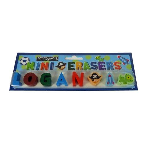 Childrens Mini Erasers - Logan