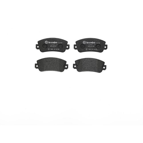 Brembo P23021 Front Disc Brake Pad - Set of 4