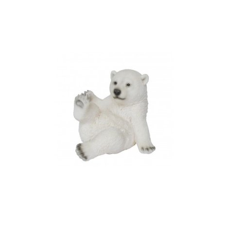 Vivid Arts - Playful Polar Bear - Sitting - Indoor/Outdoor Home/Garden Ornament