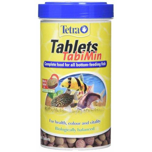 Tetra Tablets TabiMin, Complete Food Bottom-Feeding Tropical Fish, 1040 Tablets