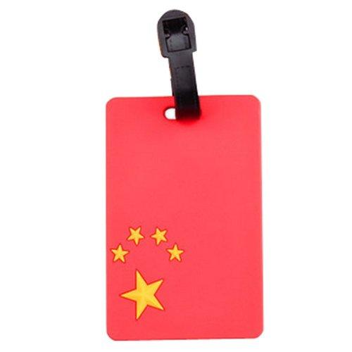 Set Of 2 Fashional Luggage Tag Bag Tags Silicone Name Tag Travel Tag [China]