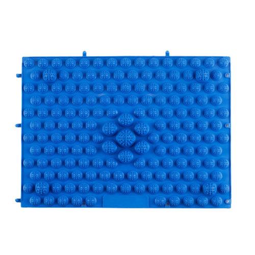 TPE Acupressure Foot Massage Mat Shiatsu Pressure Slab Toe Pad Blue