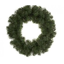 18' Christmas Wreath Plain -