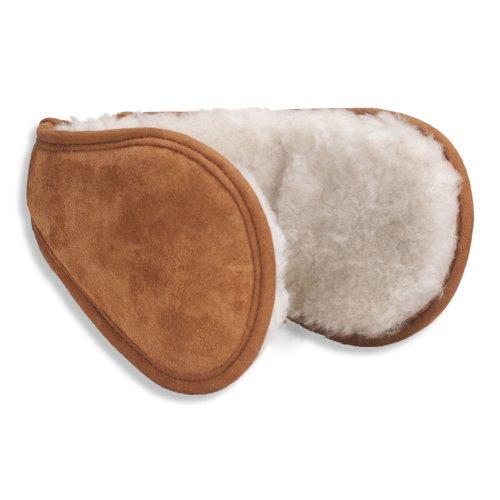 Nordvek Luxury Genuine Sheepskin Wraparound Earmuffs / Ear Warmers # 513-100