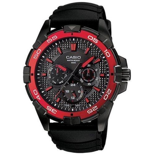 Casio Black Resin Mens Watch MTD1069B-1A2