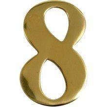 Brass Upvc Door Number 8