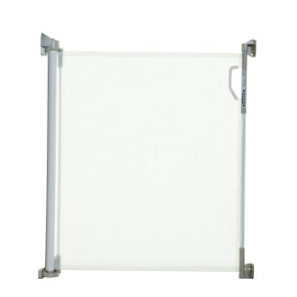 Stork Retractable Pet Gate 12-140cm Openings (White)