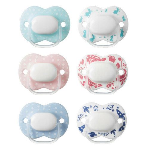 Tommee Tippee Little London Soothers¦Silicone Pacifier/Dummies¦BPA Free¦0-6m 2Pk