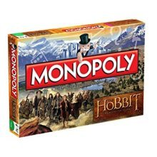 The Hobbit Monopoly Family Board Game Brand New Sealed