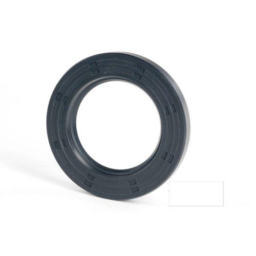 6x12x5mm Oil Seal Nitrile R21 Single Lip Springless 20 Pack