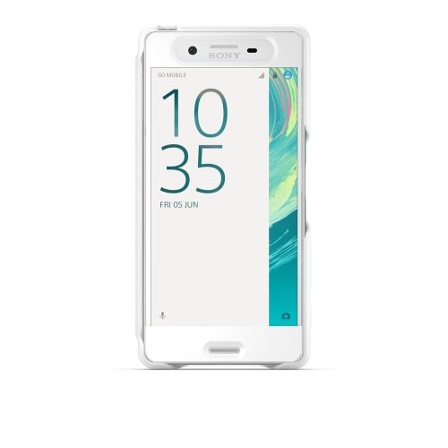 SONY Mobile Smart Style Touch Cover Xperia X - White